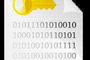 キーコンテナに格納した非対称鍵ペアのExportとImport